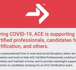 Vol.04|面對COVID-19新冠肺炎疫情,ACE陪你前行